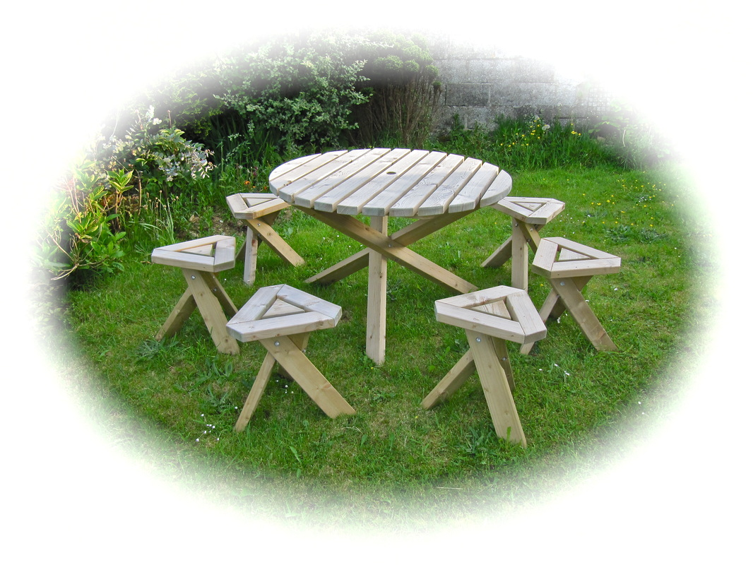 Picture. Garden Tables. Picture. Recycled Plastic Products